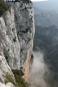 falaise d'escalade de la Carelle